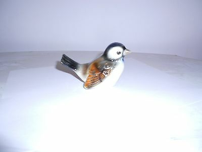 GOEBEL BROWN  SPARROW BIRD FIGURINE
