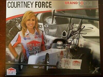 Autograph 2012 Traxxas Magazine Nhra Courtney Force Reliable Performance Racing-nhra Sports Mem, Cards & Fan Shop