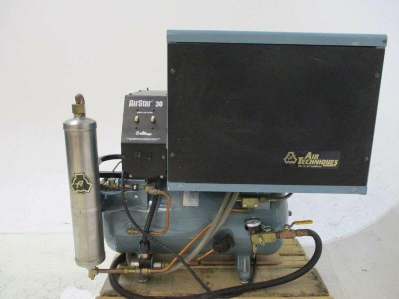 Air Techniques As30 Dental Air Compressor Refurbished W/ 1 Year Warranty