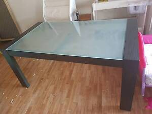 Dining Table and Chairs - 6 seater Bahrs Scrub Logan Area Preview