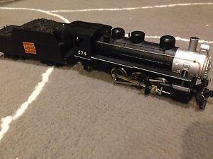 Mantua 574, steam train engine, Ho