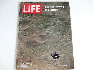 LIFE MAGAZINE JUNE 6, 1969 BARNSTORMING THE MOON