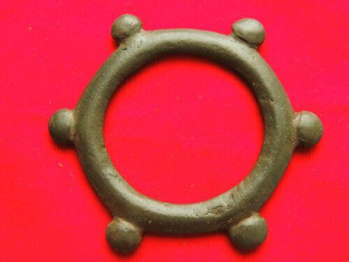 Very rare celtic bronze amulet