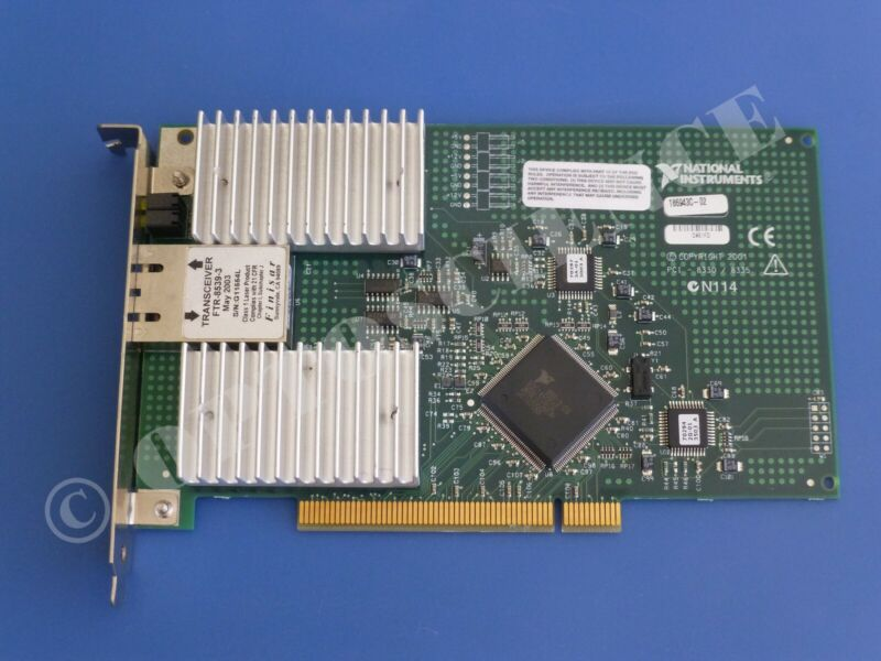 National Instruments NI PCI-8335 MXI-3 Extension Interface Card, Fiber-Optic