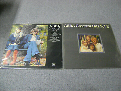 ABBA Greatest Hits + Greatest Hits Vol. 2 LP Sealed