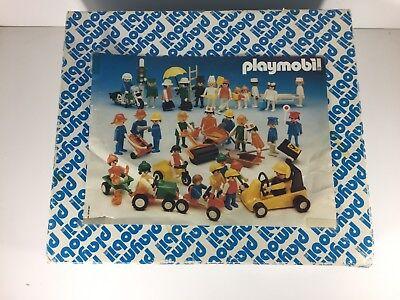Playmobil Set People Toys Car Unique Store Set Vintage Rare