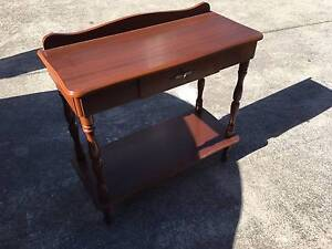 Side Table with Drawer and Shelf Greenacre Bankstown Area Preview