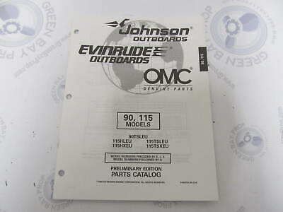 438728 OMC Evinrude Johnson 90/115 HP Outboard Parts Catalog -