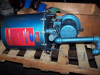 New Spencer .5 Hp Regenerative Blower Vb-003b-00 With Dollinger Mist Eliminator