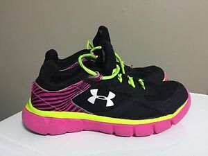 Under Armour youth size 3 sneakers