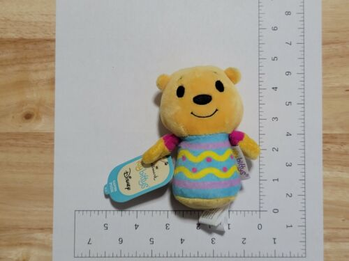 2016 Hallmark Itty Bittys Disney Winnie The Pooh Easter Plush NWT New with Tags