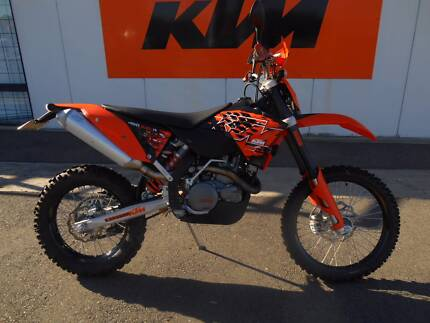 2008 KTM 450 EXC-F (Only 509 Kms from new!!)