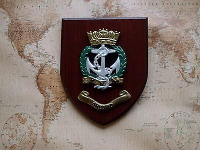 SHIPS CREST - HMS  RNA ROYAL NAVAL ASSOCIATION - AREA 10 - UK WEST