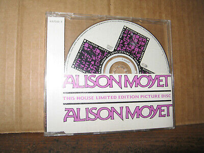 ALISON MOYET 4 SONG MAXI CD SINGLE THIS HOUSE UK IMPORT LIMITED EDITION PIC DISC (Pic 4 Song)