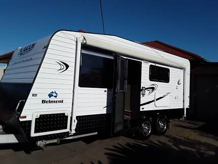 Better than new 2015 Ensuite Caravan set up for free camping Largs Bay Port Adelaide Area Preview