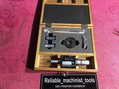 Mitutoyo Intrimik Bore Holtest Inside Micrometer .5 To .8 In W1 Ring Machinist