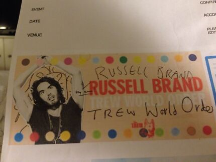 Russell Brand Malvern Stonnington Area Preview