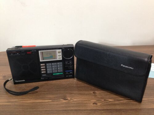 Panasonic Multi-band/SSB Portable Radio W/Protective Cover RF-B65 Good Condition