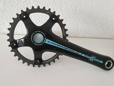 New  Campagnolo Power Torque Athena 11 carbon cranks various lengths /& rings