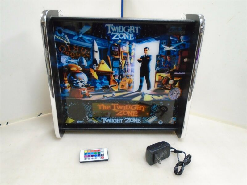 Bally Twilight Zone Pinball Head LED Display light box