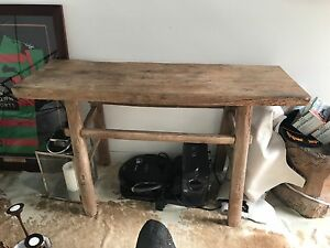 Hardwood side table Maroubra Eastern Suburbs Preview
