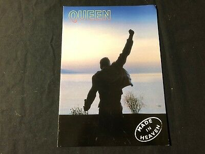 QUEEN 'MADE IN HEAVEN' 1995 SWEDISH PROMOTIONAL BOOKLET for sale  Shipping to India