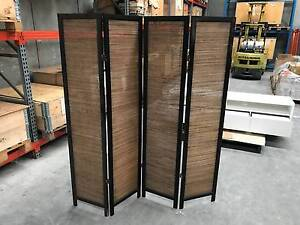 Timber Folding Privacy Screen Greenacre Bankstown Area Preview