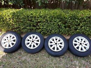 Set of 4 x 15in. Commodore Rims. Suit VB/VC/VH/VK/VL/VN/VP/VR/VS.