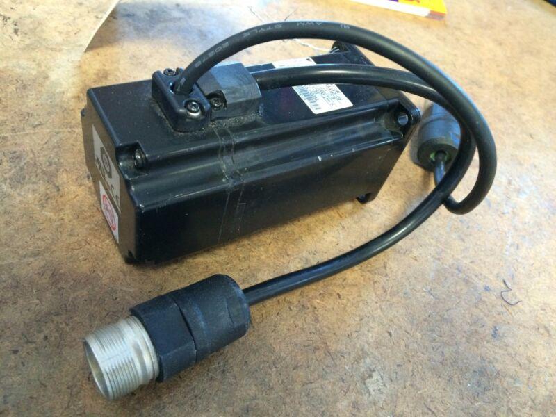 Used Yaskawa Sgmah-04aaa41d-0y Ac Servo Motor, 200vac, 400w, 2.8a, 3000-rpm Ck