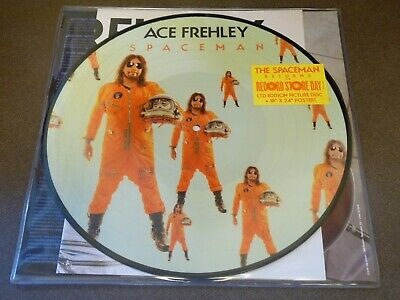 "ACE FREHLEY SPACEMAN LIMITED EDITION 12"" PICTURE DISC VINYL RSD 2019 + POSTER!"