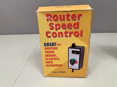 Harbor Freight 43060 Variable Fanrouter Speed Controller