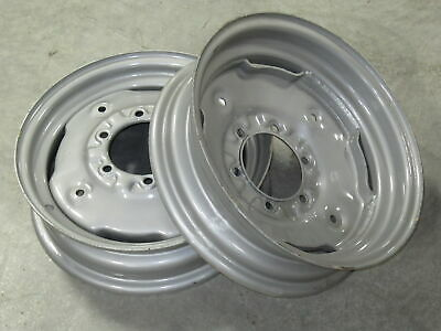 2 Wheel Rims 4.5x16 For Allis Chalmers 160 170 175 180 185 190 190xt 6060 6070