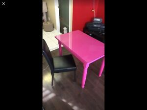 Beautiful pink table/desk