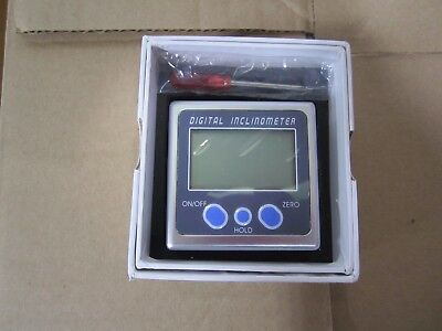New Electronic Digital Inclinometer Angle Gauge Level