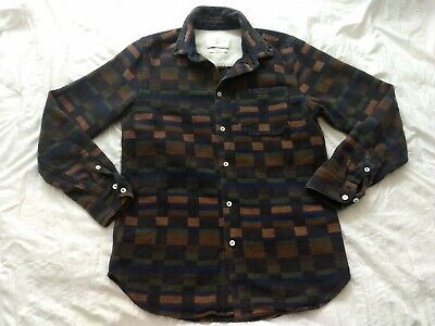 A Kind Of Guise 100% Cotton Flannel Shirt~Size M~Handmade In Germany~Button Down