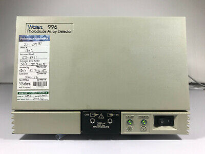Waters 996 Pda Photodiode Array Detector - Alliance Pn Wat057002