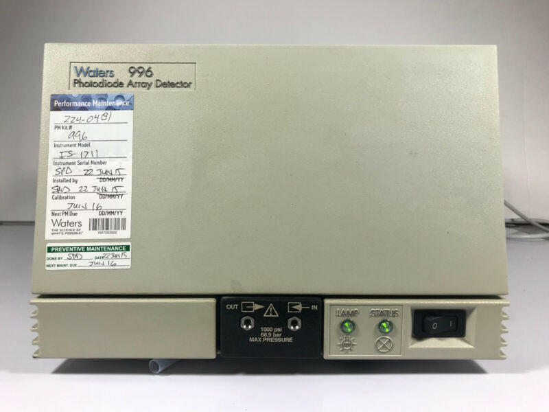Waters 996 PDA Photodiode Array Detector - Alliance PN: WAT057002
