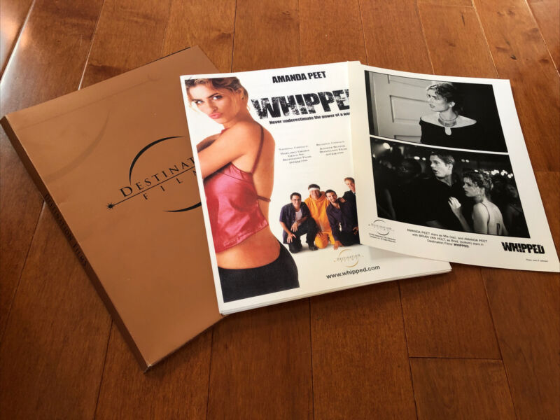 Whipped - Movie Press Kit with Photo - Amanda Peet