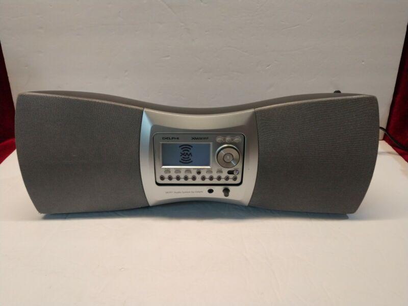 Delphi SKYFi 2 XM Sirius Radio SA10001 Boombox Dock Receiver - Tested