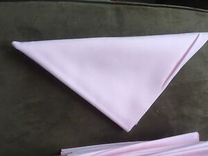 Pink Fabric Napkins