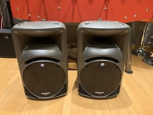 Mackie Powered Speakers a Pair (Made in Italy)