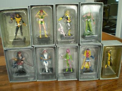 Eaglemoss Classic Marvel Lead Figurines Lot of Seven female Figures//You choose for sale  Canada