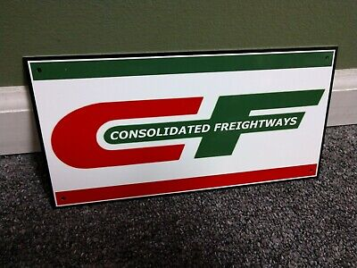 Consolidated Freightways Sign