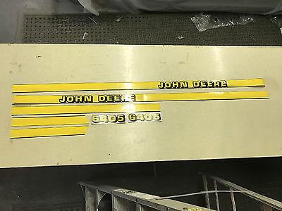 John Deere 6405 Hood Decals