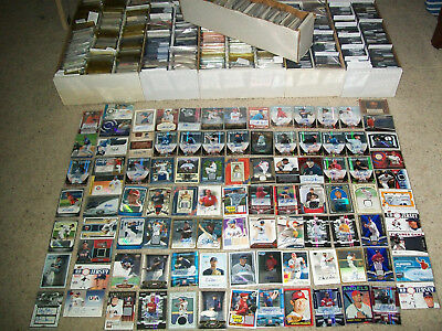 BASEBALL HOT PACK 35 CARD LOT AUTOGRAPHS*GAME-USED*SERIAL#