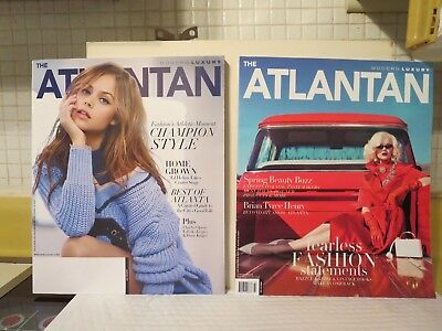 ATLANTA, GA (8 Issues) Modern Luxury, Homes/Lifestyle,  Best Of, Fashion, Realty
