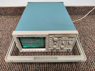 Tektronix Tds 360 Two Channel Real-time Digital Oscilloscope 200 Mhz 1 Gss