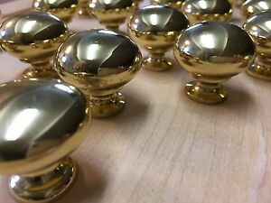 Polished Gold Knobs