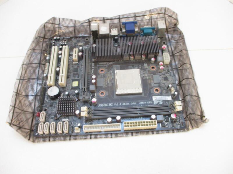ELITEGROUP A960M-M2 motherboard, micro-ATX, socket AM3,