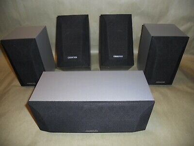 Onkyo Surround Sound: SKC-320C, Center Channel, 2 Front and 2 Rear Speakers